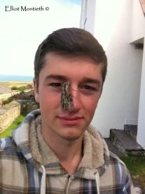Me doing my best with a Moth Selfie
